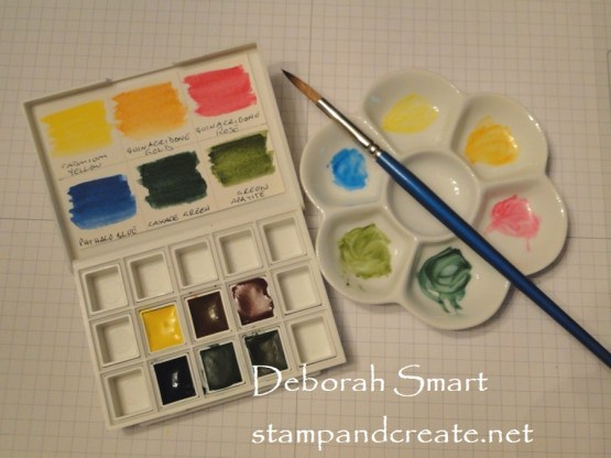 Working with Watercolours