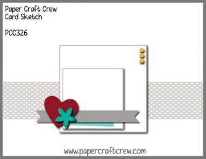 Paper Craft Crew Sketch Challenge PCC326