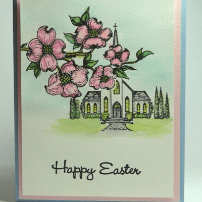 Easter Sunday with Scrap 'N Stamp