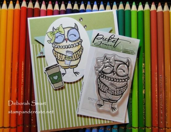 Picket Fence Studios BFF Owl Stamp