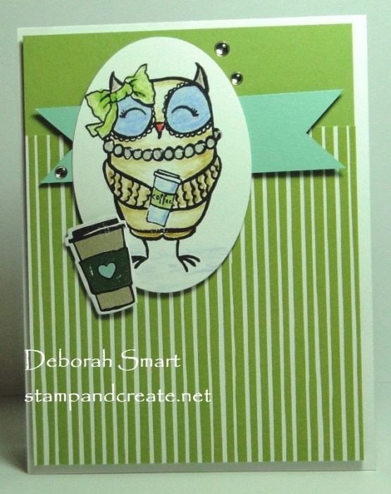 Picket Fence Studios BFF Owl
