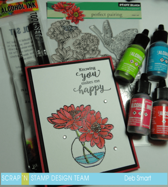 Scrap 'N Stamp Floral Frenzy Blog Hop
