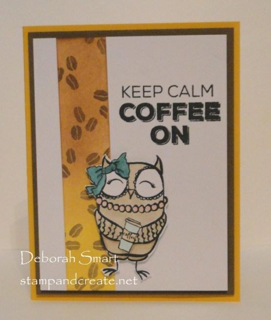 Keep Calm & Coffee On