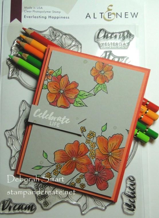 Coloured Pencil Flowers