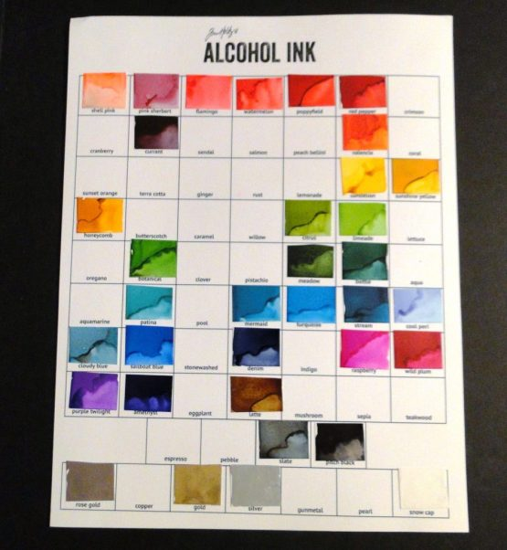 Alcohol Ink Abstract Art