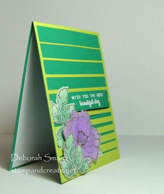 Easy Distress Oxide Flower