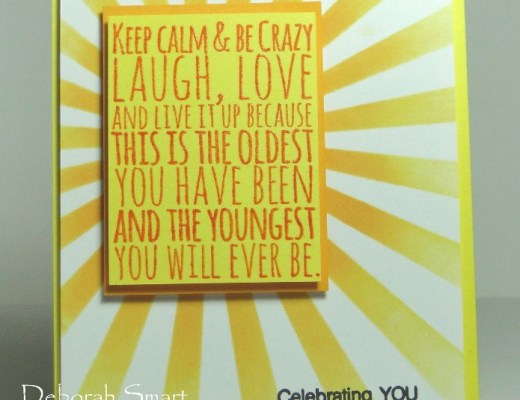 Keep Calm Be Crazy, It's Your Birthday