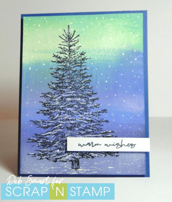 Create a Distress Oxide Watercolour Background