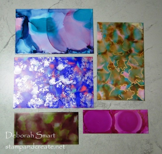 Alcohol Ink Projects in the Works