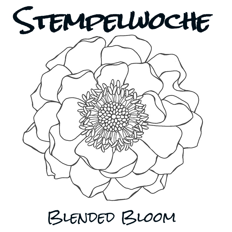 Stempelwoche – Blended Bloom – Minikarten