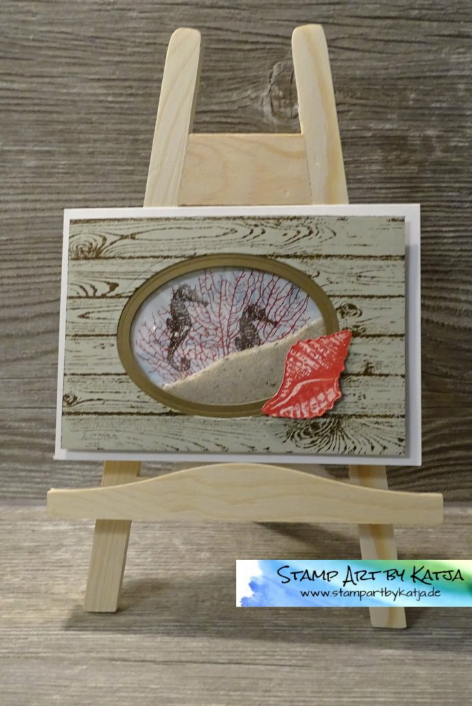 Stampin' Up! By The Tide & Hardwood