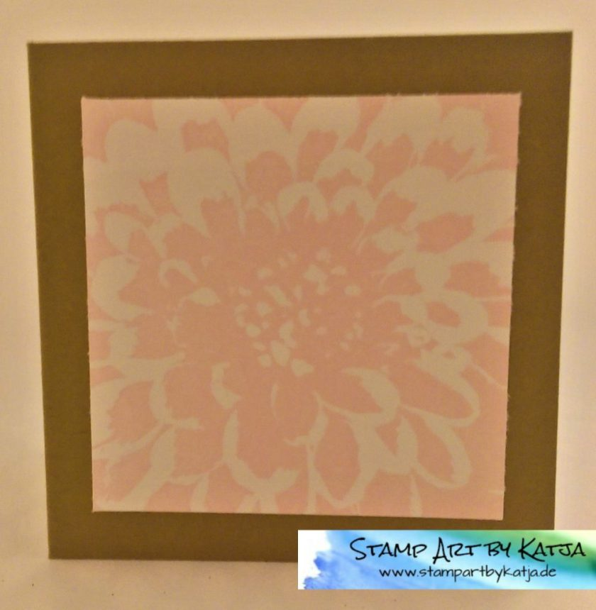 Stampin' Up! Definately Dhalia