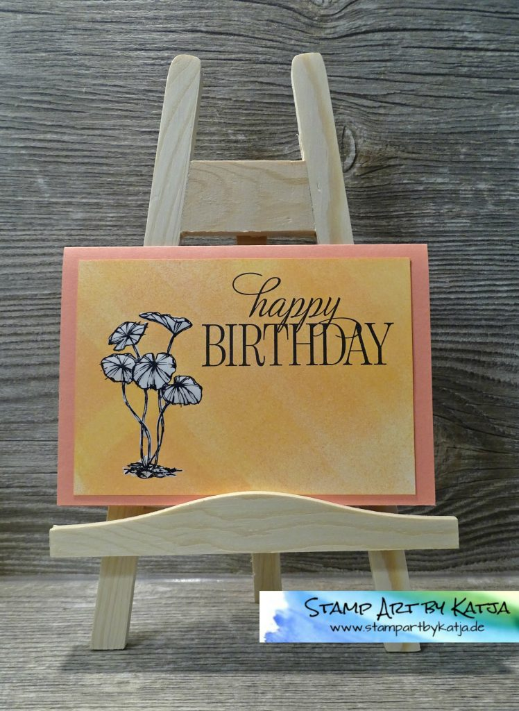 Stampin' Up! Fabulous Flora, Stylized Birthday