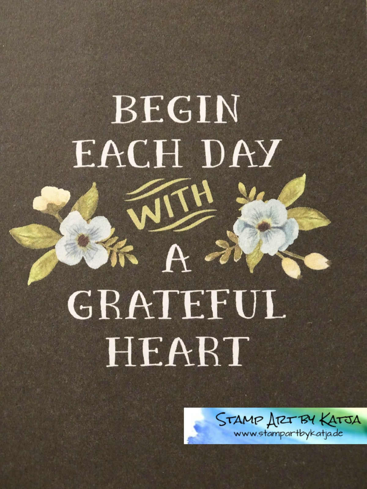 Project Life – Hallo Sonnenschein –  Begin each Day with a grateful Heart