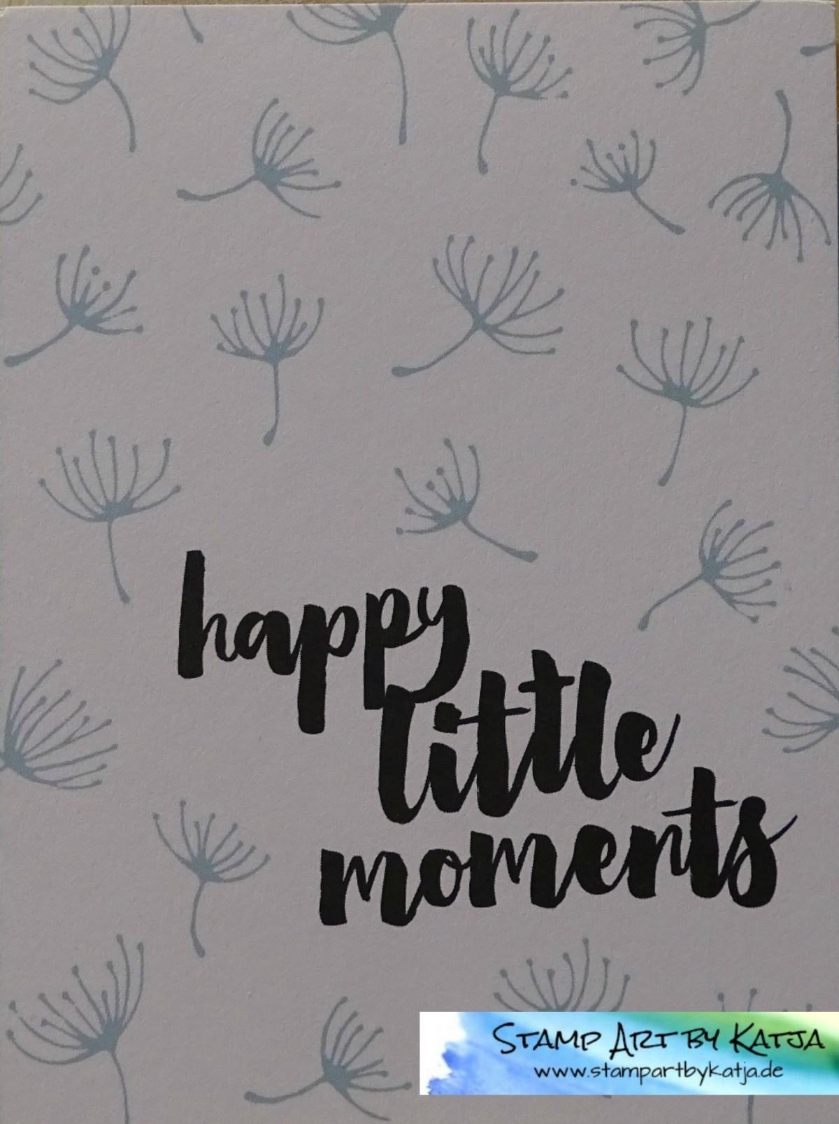 Project Life Karte – Hallo Sonnenschein – Happy little Moments…
