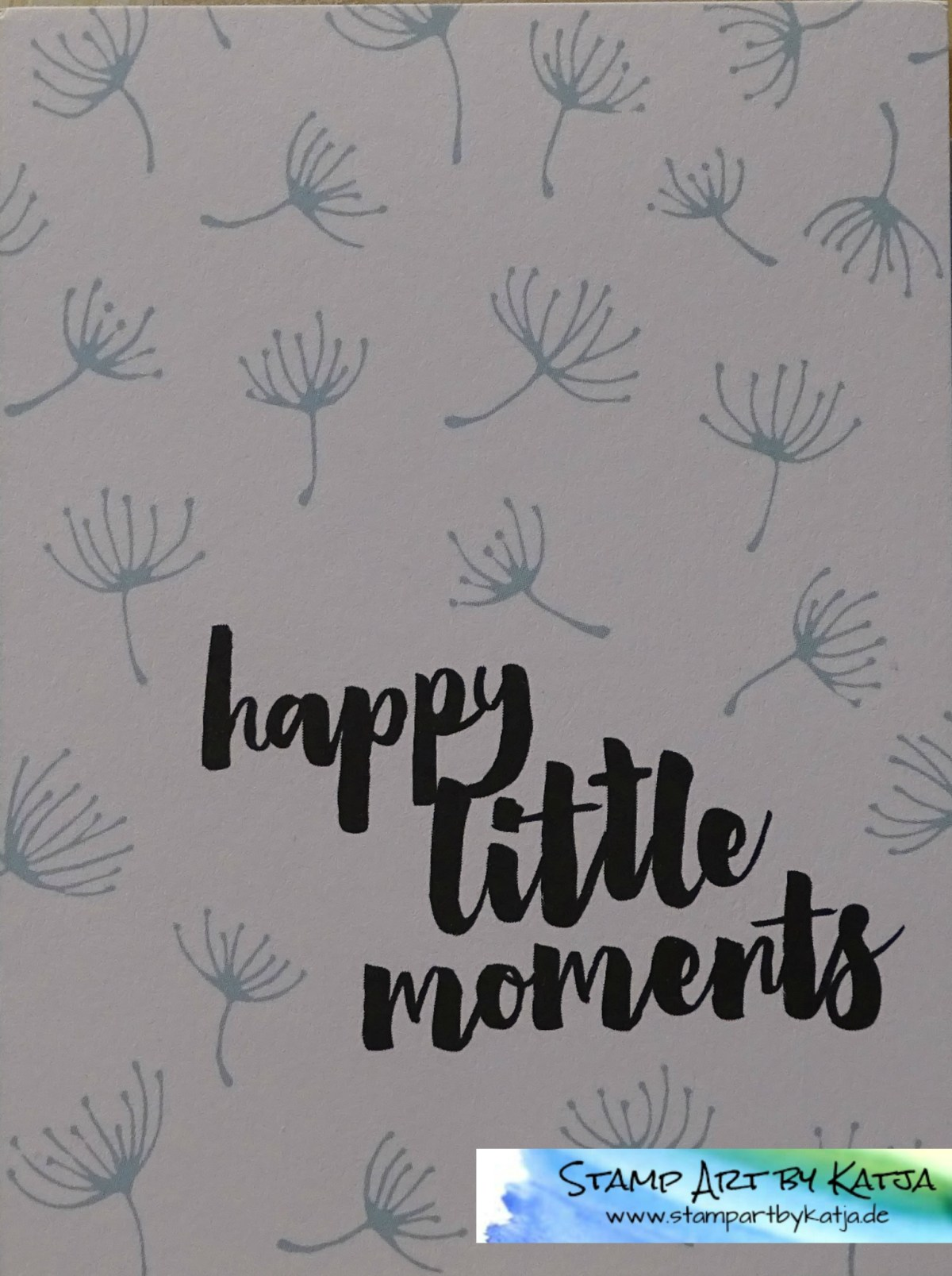 Project Life Karte – Hallo Sonnenschein – Happy little Moments…