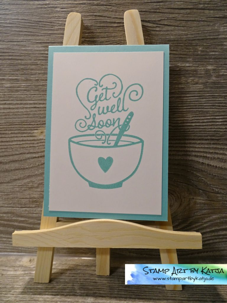 Stampin' Up! Get Well Soup - Jade