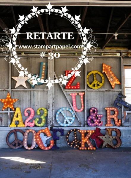 RETARTE 30 - NUMEROS Y LETRAS