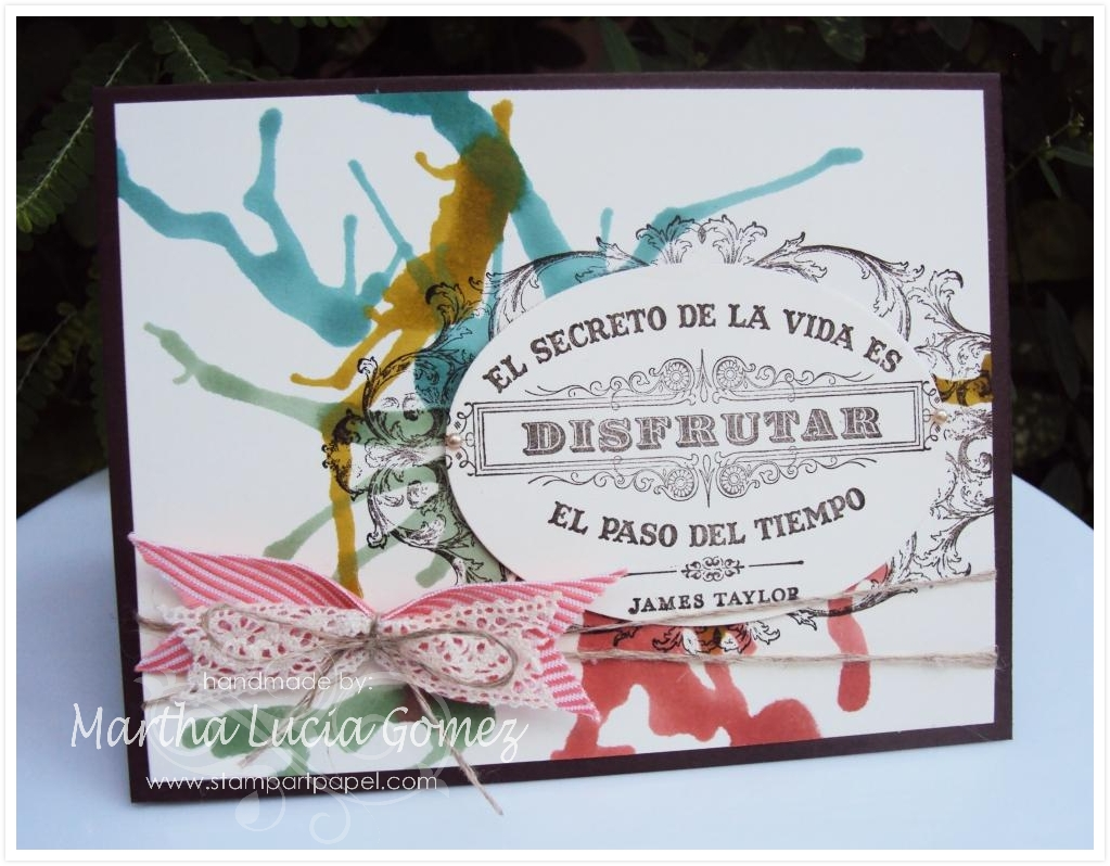 GRACIAS AROUND THE WORLD STAMPIN UP CHALLENGES