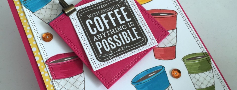 SPRING COFFEE LOVERS WITH HERO ARTS