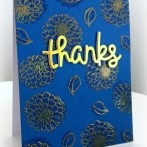 SHADOW STAMPING CARD