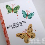 COLOR LAYERING BUTTERFLIES