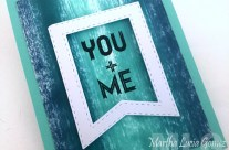 YOU + ME LOVE HERO ARTS