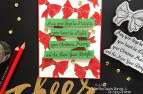 Happy Light Merry and Bright with So Suzy Stamps