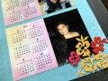 Printed Calendar with photos
