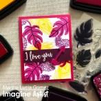 VersaFine Clair in a Valentine Card