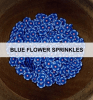 Blue Flower Sprinkles