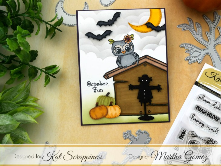 Fall Stamped Card by Martha Lucia