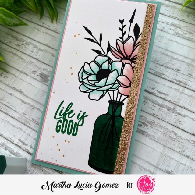 To You Mini Slimline Card