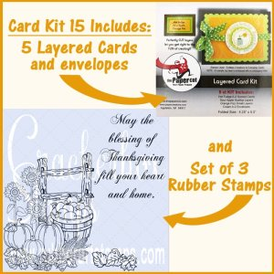 Fall Card Kits of Crackerbox Stamps