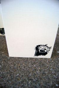 Vampire Cat Greeting Card