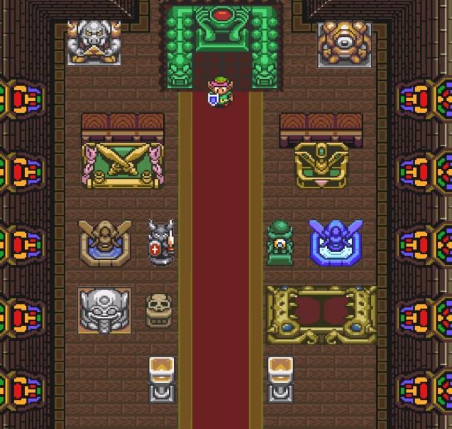 The Legend of Zelda: A Link to the Polychrome Statuary
