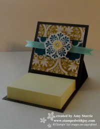 Mini Post-it Note Holder | stampedwithjoy