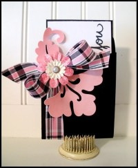 Creative Thank You Card and Card/Gift Card Holder