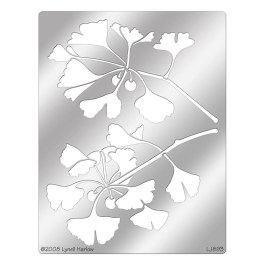 DWL893 Ginkgo Bough Stencil