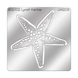 DWLM209 Starfish Stencil