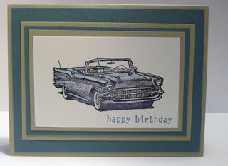 Stampin' And Scrappin' Male Birthday Cards