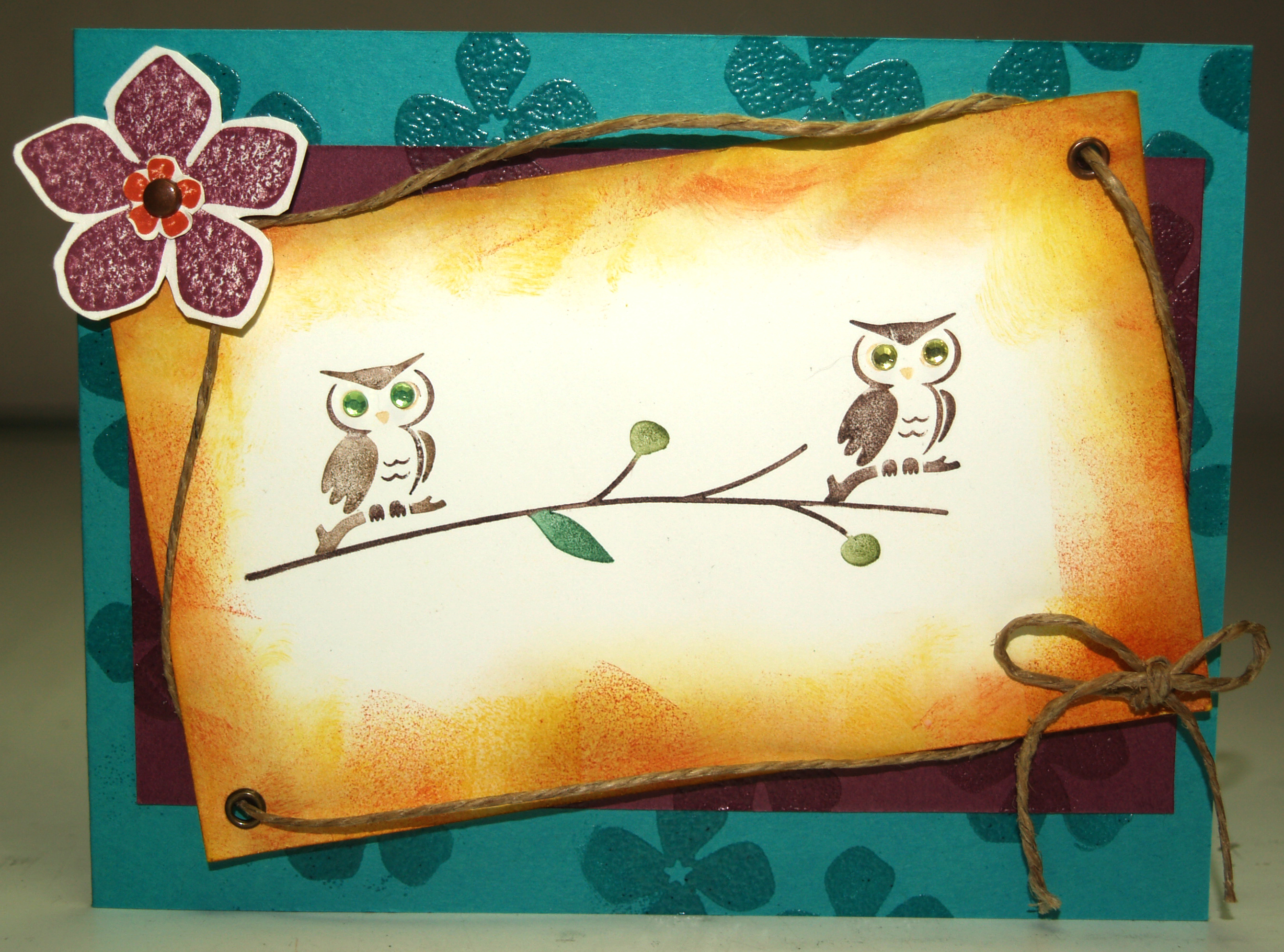 Forest Friend owls-For All You Do card2