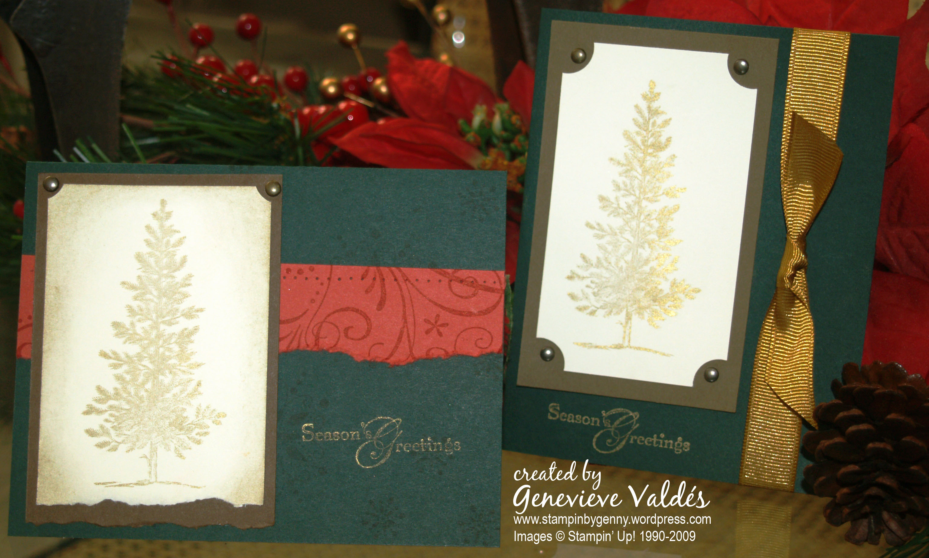 Lovely as a Tree Christmas cards