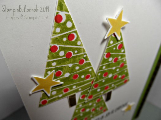 stampin up festival of trees