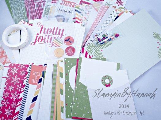 Stampin' Up! UK Project Life by Stampin' Up! Seasonal Snapshot