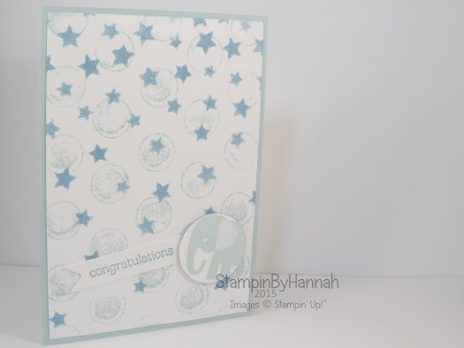 Stampin' Up! UK Stamping with embossing folders