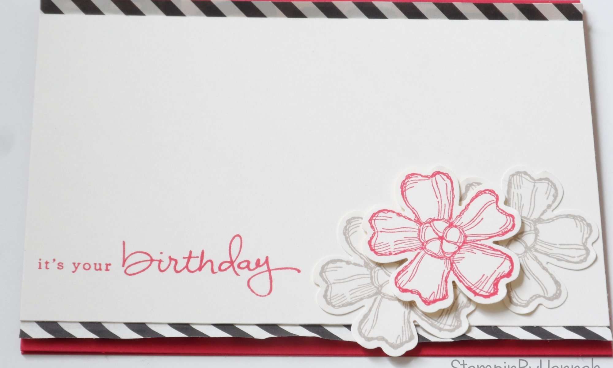 Stampin' Up! UK Freshly Made Sketches Endless Birthday Wishes