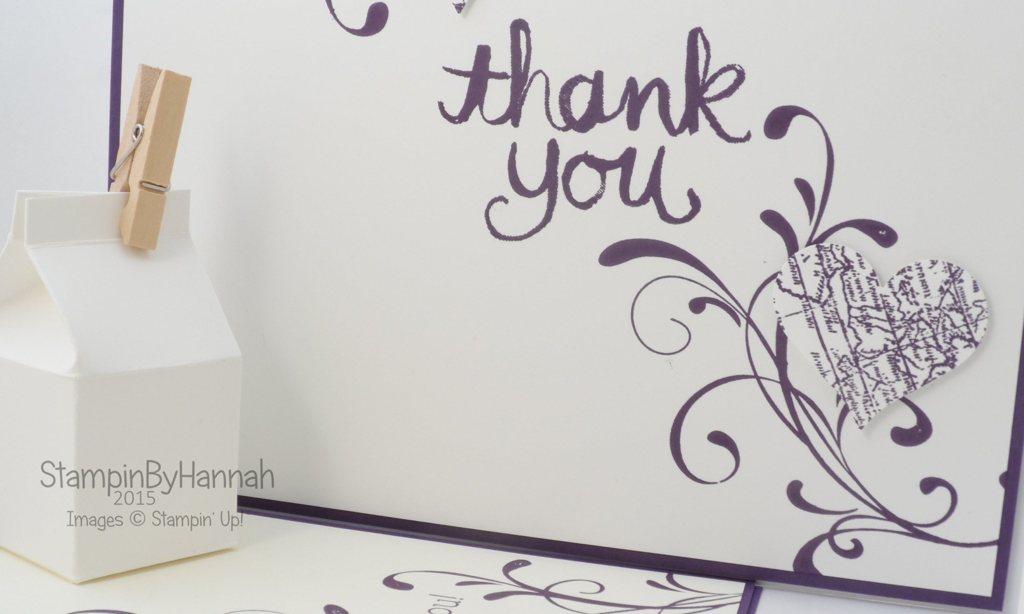 Stampin' Up! UK Wedding cards