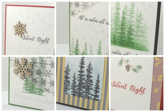 Stampin' Up! Wonderland at home class