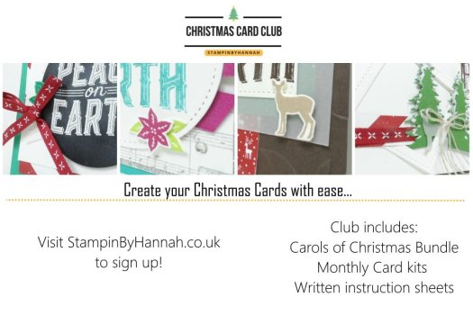 StampinByHannah Christmas Card Club 2017
